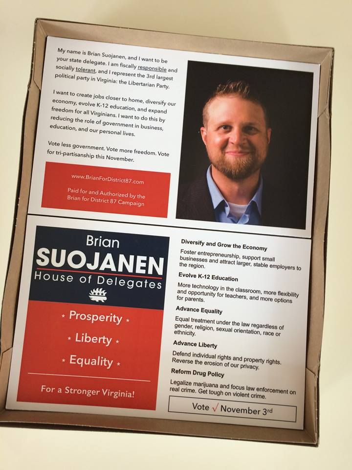 campaign flyers