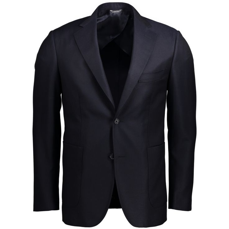 SPIGA 3 - Navy Hopsack Single Breasted Jacket