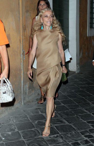 Franca Sozzani - Rome Vogue Fashion Night Out - Campari Red Passion Prize
