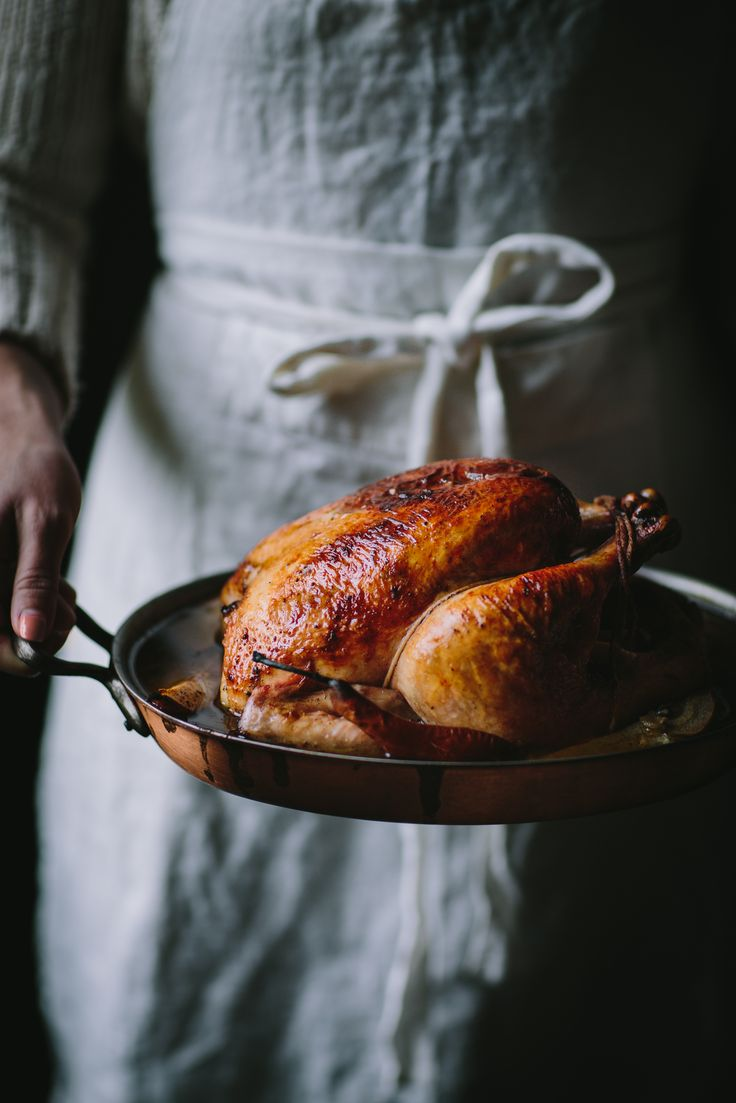 Vanilla Bean Brown Butter Roast Chicken by Eva Kosmas Flores | Adventures in Cooking dinner ode, dinner recipe, healthy, yummy