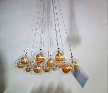 Ambiente Furniture   Nuevo Aura Pendant Chandelier
