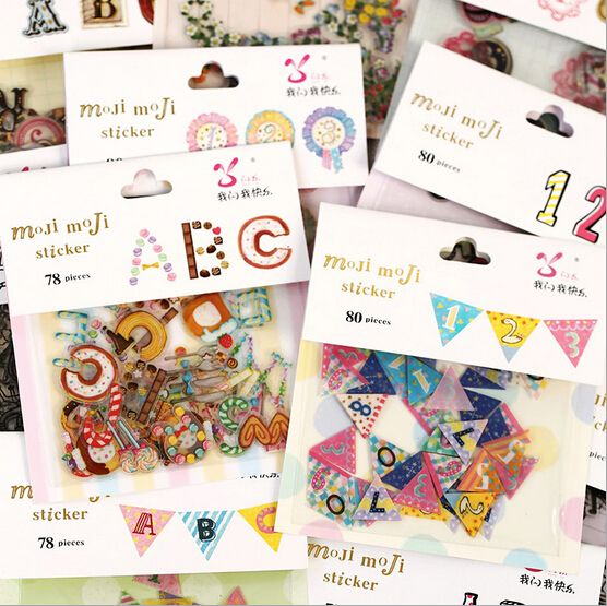 C$ 1.98 Cheap stickers jaguar, Buy Quality stickers quality directly from China sticker cute Suppliers:  New 1pcs colorful alphabet digital stickers, DIY transparent decorative stickers 12styles for choose
