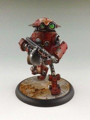 Atlantic Union Assault Bot MkII #1
