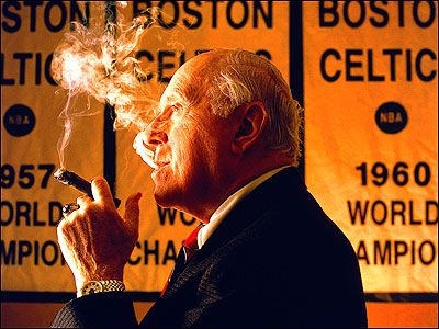 The Legend! Red Auerbach 1917-2006. The mastermind of the Celtics Dynasty.