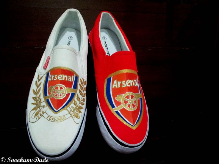 Arsenal football shoes
