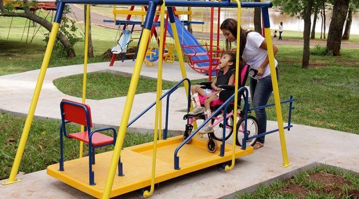 Aprovada adaptação de equipamentos de lazer para pessoas com deficiência