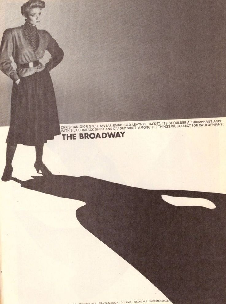 1981 The Broadway Christian Dior Fashion Print Advertisement Ad Vintage VTG 80s | eBay