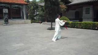 Chen Style Taiji Sword in Chenjiagou. Master G. Paterniti.