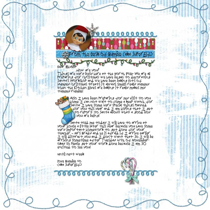 Elf on the Shelf - Letter explaining late arrival | Elfin