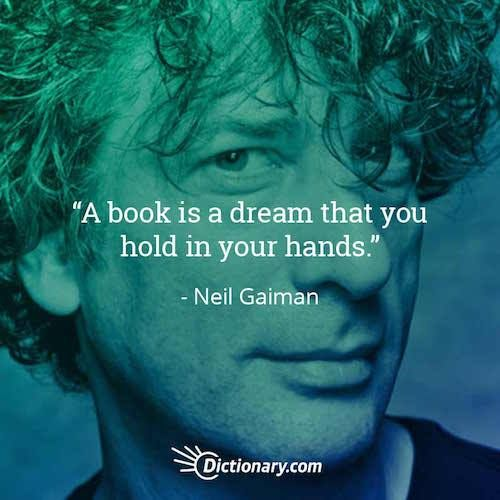 Quotable – Neil Gaiman - Writers Write