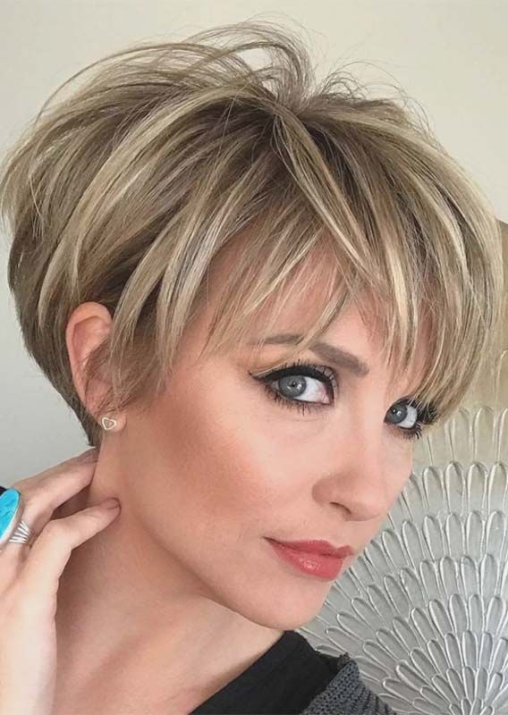 20 Best Long Pixie Haircuts For Women To Wear In 2019 Absurd Styles Short Hair Styles Thick Hair Styles Stylish Short Haircuts
