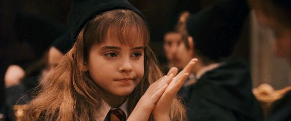 clapping hermione granger dissapointed