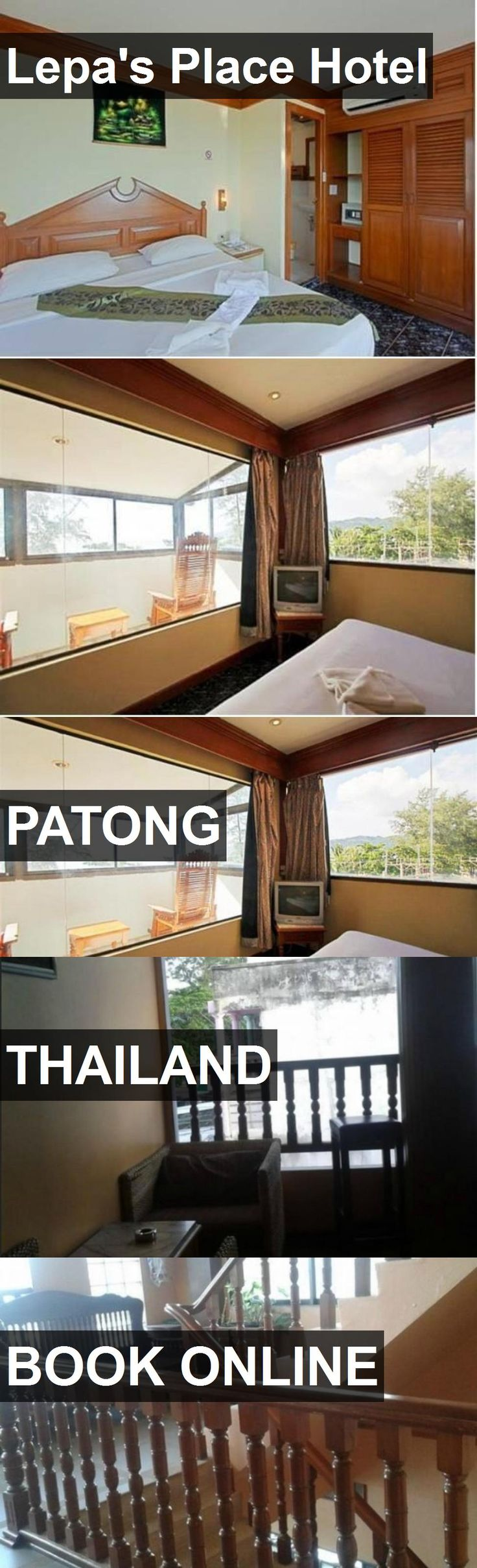 Lepa's Place Hotel in Patong, Thailand. For more information, photos, reviews and best prices please follow the link. #Thailand #Patong #travel #vacation #hotel