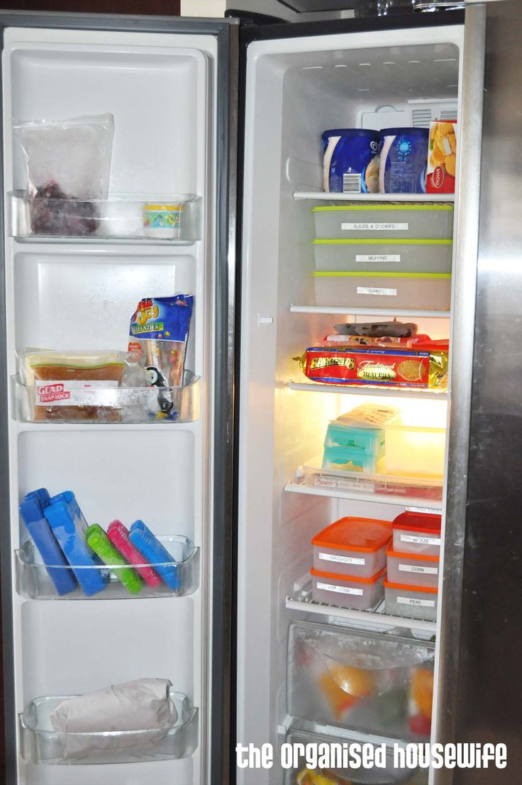 Cleaning the freezer » The Organised Housewife