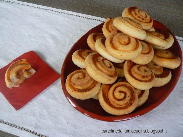 Cartoline dalla mia Cucina: Girelle di pan di mozzarella