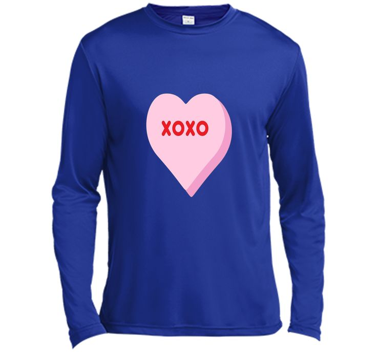 Valentine's Day Candy Heart Shirt XOXO Cute Couples Gift