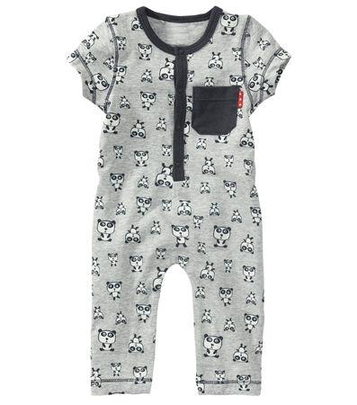 Baby jongens onesie panda - HEMA