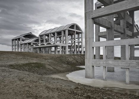 La Cros Factories by Diaz Arquitectos. Culleredo (A Coruña)