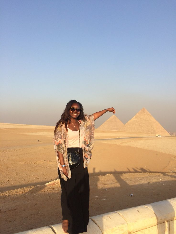 Me at the pyramids in Caro. Unbelievable!!!