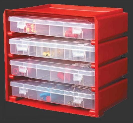 Fresh Parts Cabinet with Drawers