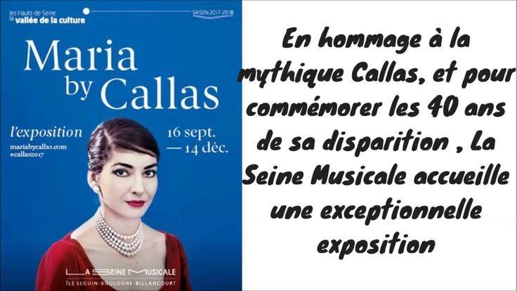 Maria by Callas exposition La Seine Musicale à Boulogne (92)/ exposition...