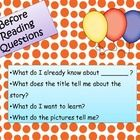 Students can use these reading posters to refer back to during independent work or group discussions. Before, during, and after reading posters are...