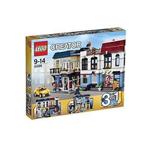 "Lego Creator 31026   	 		 			 				 					Famous Words of Inspiration...""Youth is easily deceived because it is quick to hope.""					 				 				 					Aristotle 						— Click here for more from... more details available at https://perfect-gifts.bestselleroutlets.com/gifts-for-holidays/toys-games/product-review-for-lego-creator-31026-bike-shop-and-cafe/"