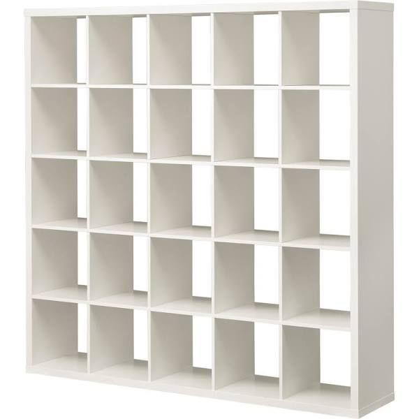 IKEA KALLAX, Regal, 182x182x39 cm, weiß