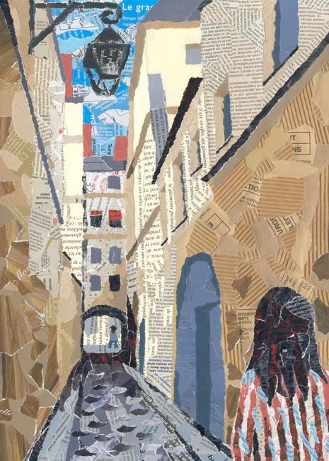 torn paper collage ideas The art of paper collage [susan pickering rothamel] on amazoncom free  shipping on  the collage ideas book (the art ideas books) alannah moore.