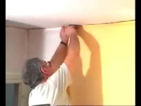 Tout sur le plafond tendu et la toile tendue murale. Un système exclusif et original