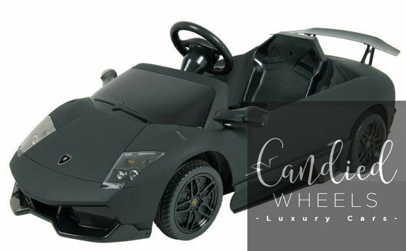 Custom Lamborghini Murcielago Remote Controlled By