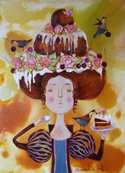 Поздравление с днем рождения подруге художнице