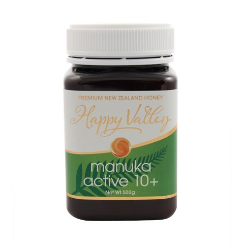 New Zealand Active/UMF 10+ Manuka Honey – Happy Valley – 500g | Shop New Zealand