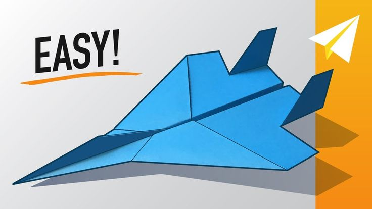 EASY F15 Paper Airplane! How to make an Amazing Paper Jet