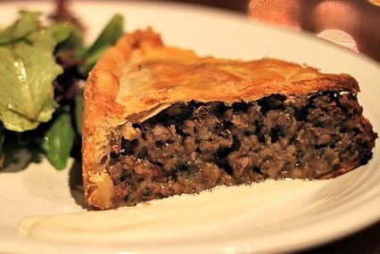 Celebrate Canada Day with a traditional French Canadian Tourtiere (a savory meat pie)!  Comfort food at its best. CreativeCynchronicity.com