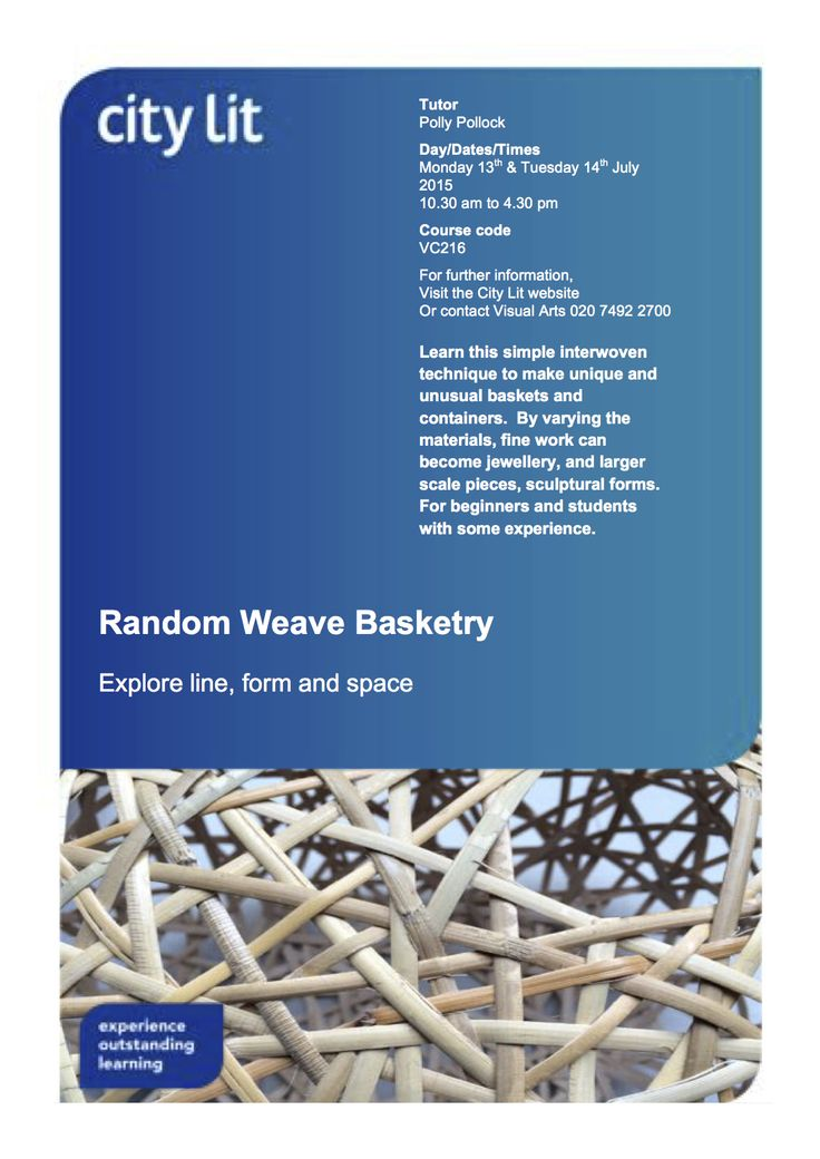 Just a few places left ...... this is an easy to learn basketry technique which can be applied to working with a wide variety of materials.  Scaled down it can be used to make jewellery, and worked on a large scale can become sculpture.