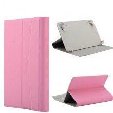 Capa Tablet 7 Polegadas Botón - Stand Rosa  R$35,44