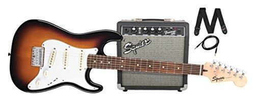 Just added another great item to our store Squier by Fender ... check it out @ http://guitarisms.com/products/squier-by-fender-stratocaster-short-scale-beginner-electric-guitar-pack-with-squier-frontman-10g-amplifier-brown-sunburst-finish?utm_campaign=social_autopilot&utm_source=pin&utm_medium=pin