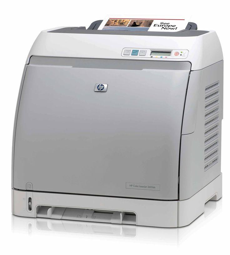 Refurbished HP LaserJet 2605N Printer (without toner) - £89 #refurbished #printer #hp #laserjet #paranetuk