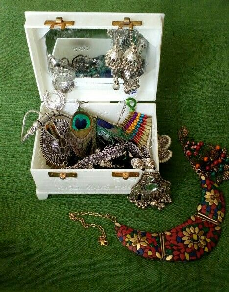 Oxidized jewellery..love for colors..
