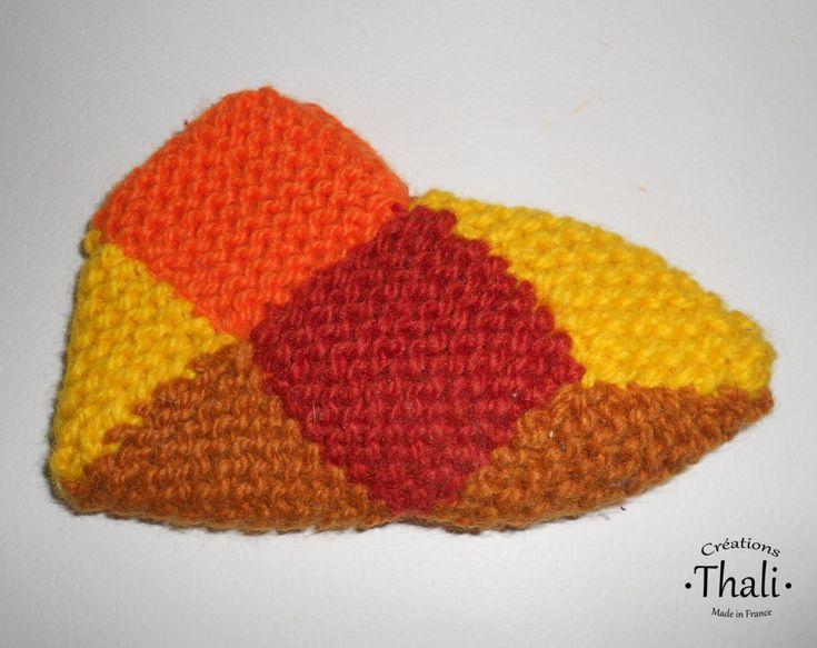 DSCN0989a | Tricot et crochet, Jeux de pliage et Chaussons bébé tricot facile