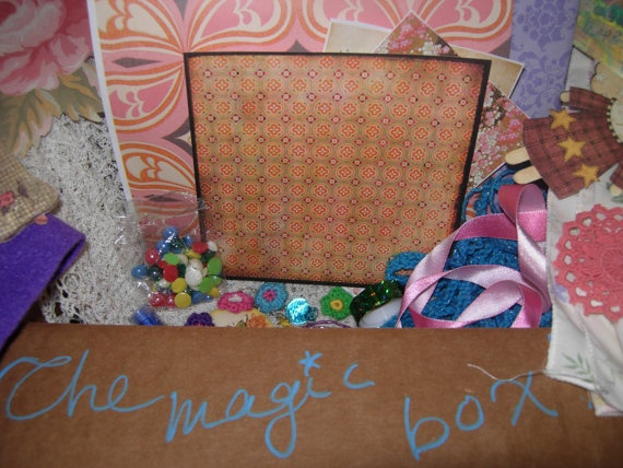 The Arts and Crafts MAGIC BOX of winter a box full of by eltsamp, $87.00