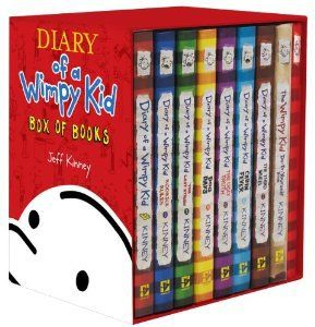 Wimpy Kid Box of Books 1-7 + DIY + Journal (Diary of a Wimpy Kid) [Hardcover] on Wanelo