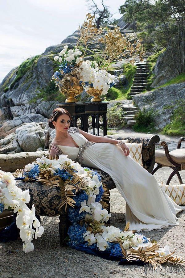Gorgeous Cap Sleeves Lace Chiffon Maternity Wedding Dress High Waist White Pregnant Formal Dress Emp on Luulla