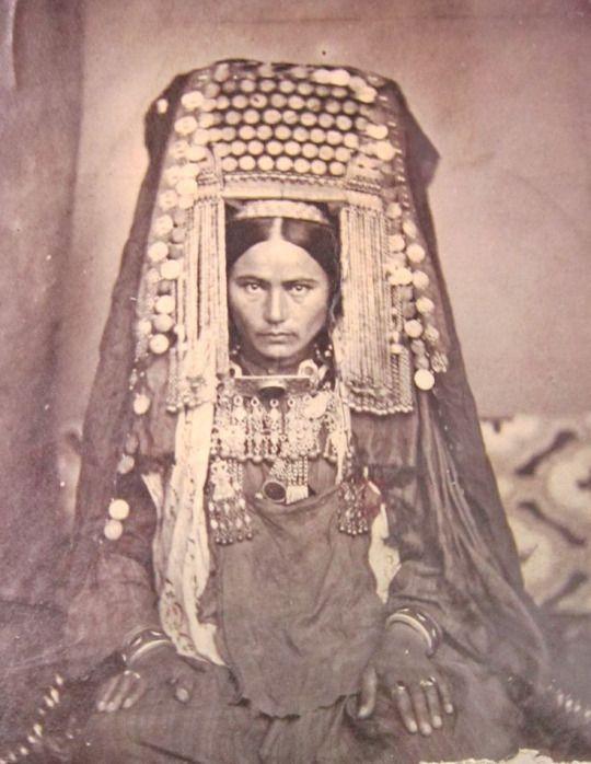 woman from Turkmenistan, taken in 1866