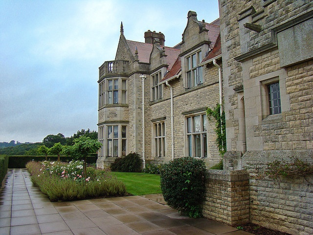 Barnsdale Hall, Rutland Water, England