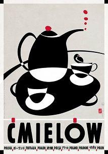 Ryszard Kaja - Ćmielów,  plakat z serii Polska, Ryszard Kaja