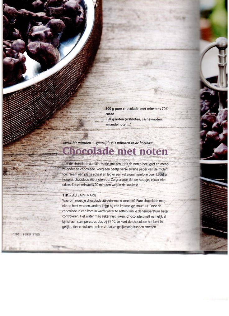 Chocolade met noten Pascale Naessens