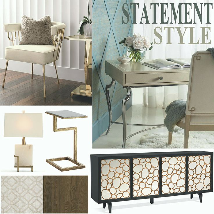 2016 Home Fashion and Color Trends: The High Point Market Spring Report  This furnishings trend, focuses on the importance of creating impact in an interior with the use of decorative accessories and furniture that convey a strong aesthetic message that blurs the line behind art and home furnishings.
