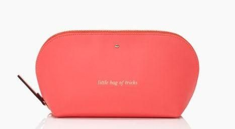what's in your little bag of tricks? the bon voyage annabella cosmetic bag by kate spade new york (february 2014)